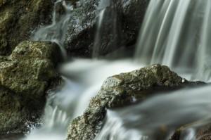 La diga e il torrente